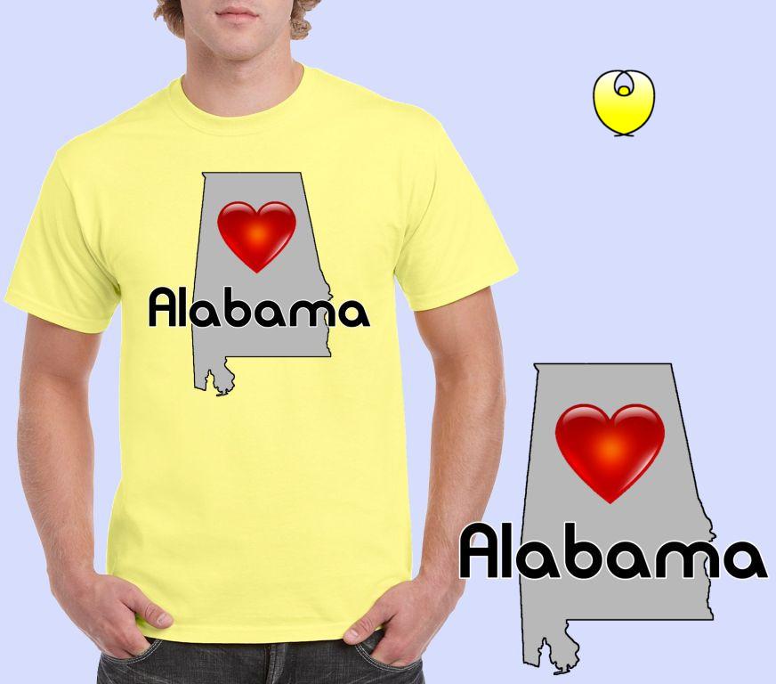 e0314886de5e Alabama Heart Gray State – Gildan 5000 Corn Silk -