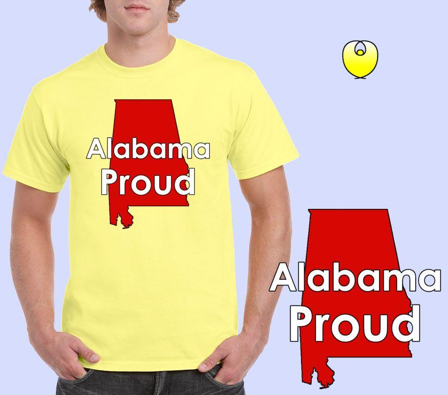 8dbad0e6befd Alabama Proud Red State – Gildan 5000 Corn Silk -