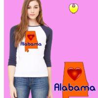 AL Bella Baseball Orange State