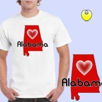 1fb39c5a34fe Alabama Proud Orange State – Gildan 5000 Irish Green -