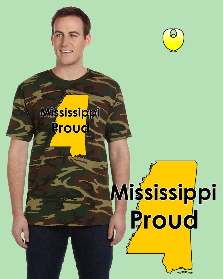 Mississippi Proud Yellow State – Code V 3906 Wood Green