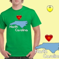 NC Carolina Blue State