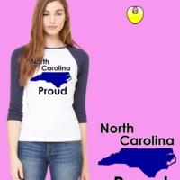 NC Bella Baseball Blue State